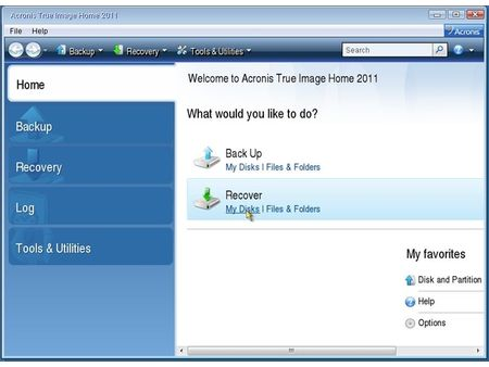 acronis my disks