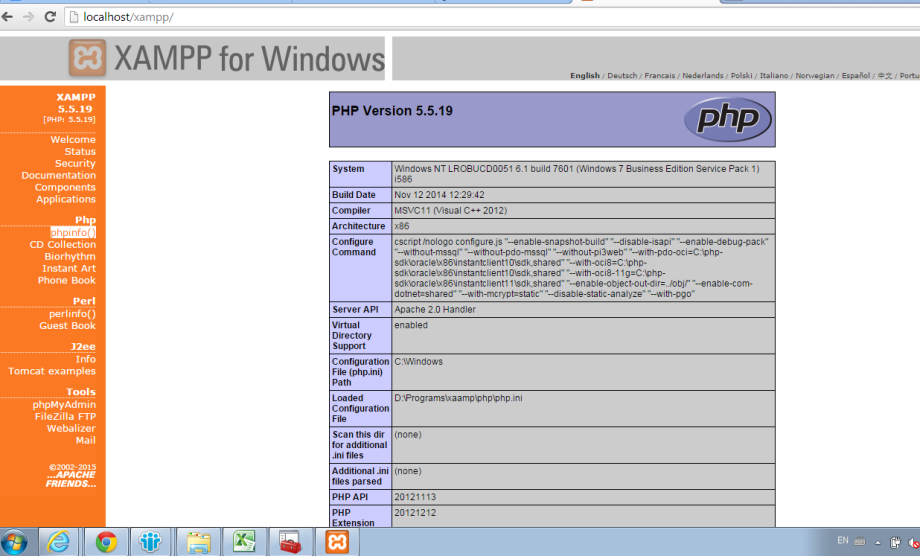 config php