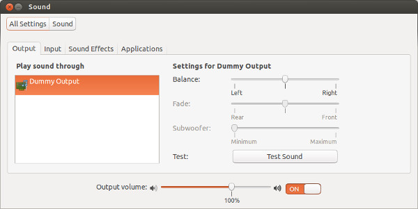 Ubuntu No Audio
