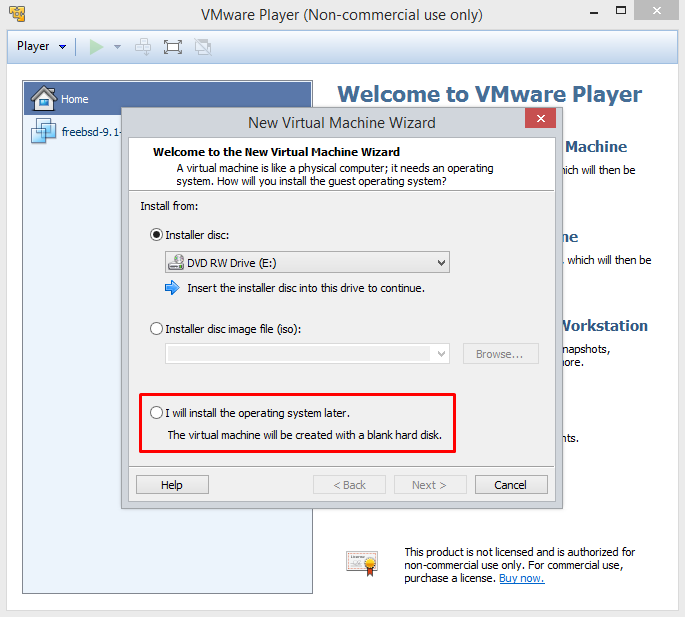 vmware-player-os-install-source