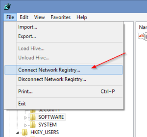 Connect Network Registry