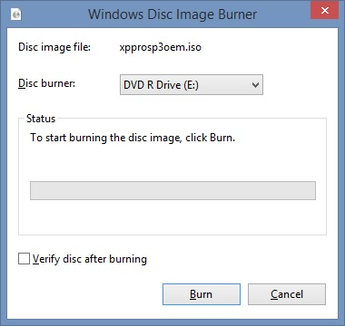 Cum scrii burn o imagine de cd-dvd iso in Windows 7 8 8.1 10a