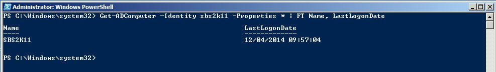 get-adcomputer-identity-properties-format-table-name-lastlogondate