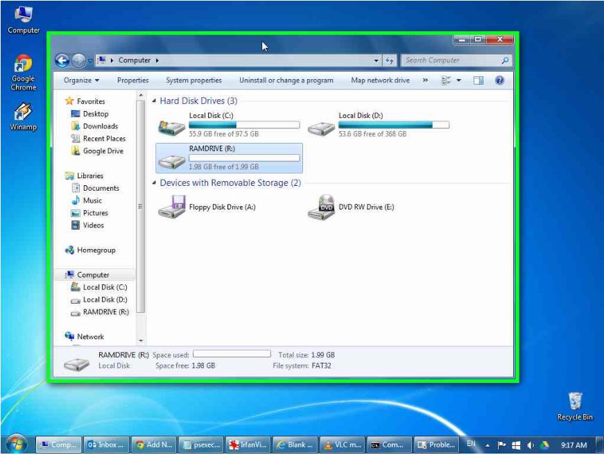 minimize windows