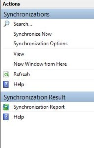 Synchronize-now