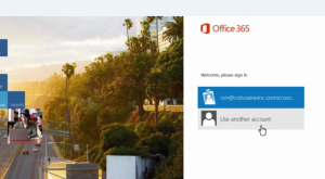 use-another-account-office365