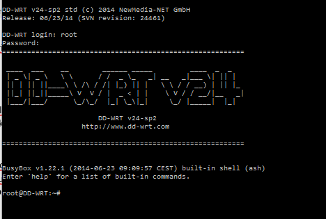ddwrt welcome