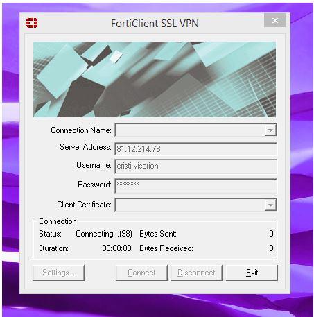 Forticlient ssl vpn 98 : Qué utiliza los datos de internet