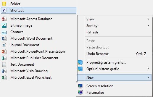 Configureaza butonul de arata ascunde desktop (show desktop) pentru windows 8 - 2