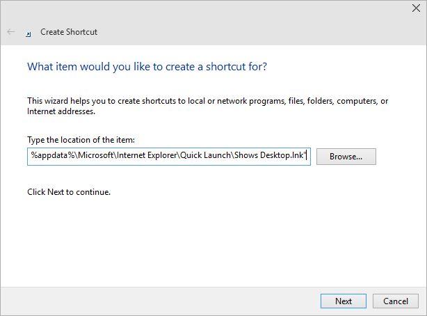 Configureaza butonul de arata ascunde desktop (show desktop) pentru windows 8 - 3