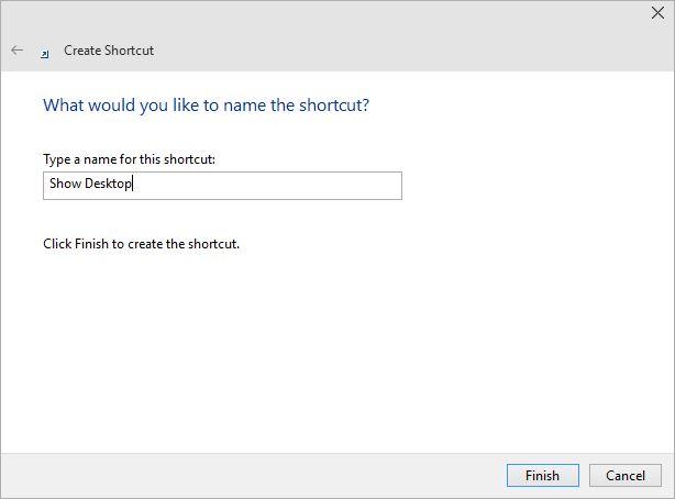 Configureaza butonul de arata ascunde desktop (show desktop) pentru windows 8 - 4