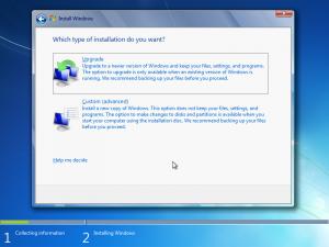 Windows -7-custom-install