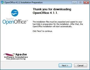 Instalare suita office gratuita Apache Open Office (1)