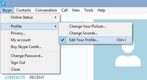 Cum Să Iți Personalizezi Profilul De Skype Askit Solutii Si Rezolvari Pentru Diverse Situatii It