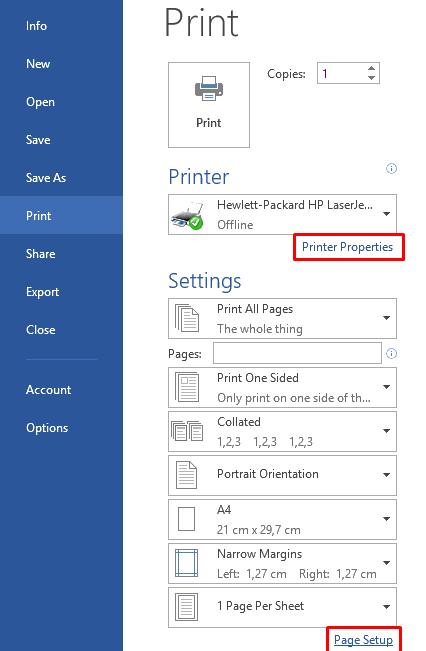 word-print