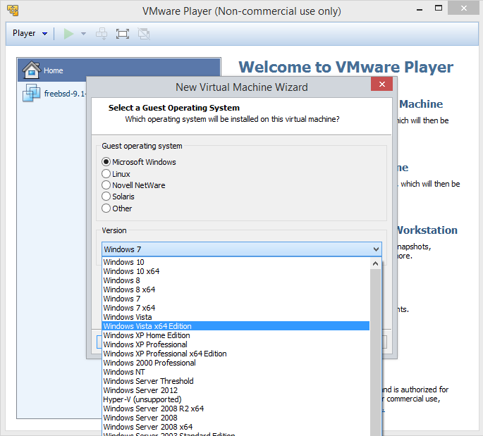 vmware-player-select-OS
