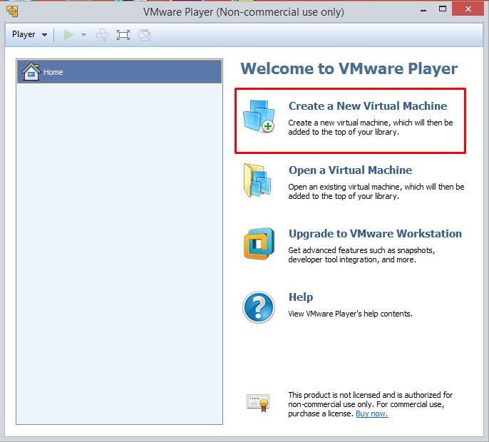 vmware-player-create-vm