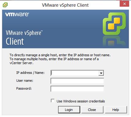 aplicatia vmware vsphere client extras next i agree next next install status finish view vsphere