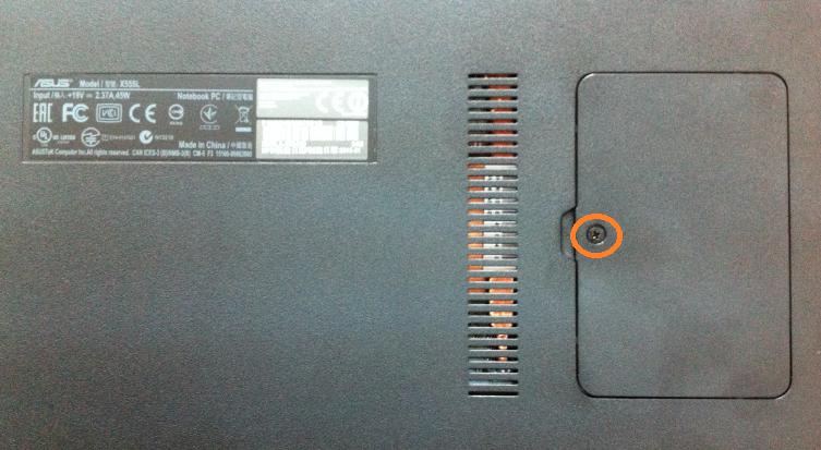 inlocuire memorie ram asus x555l