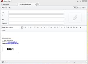 Opera mail semnatura7
