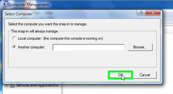 how to remote connect to a computer in another network