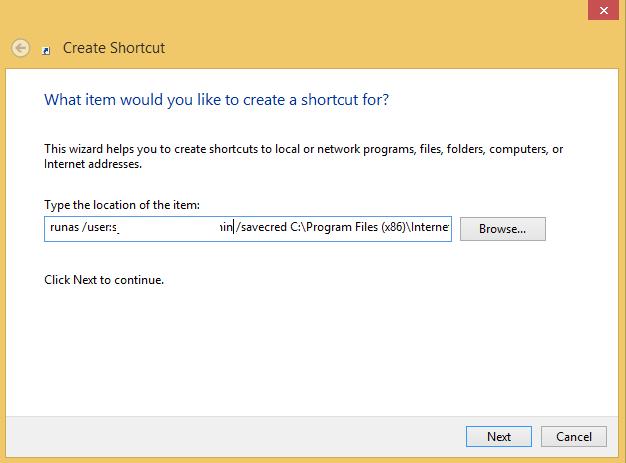 create-shortcut-runas