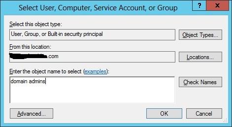 domain admin