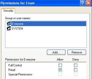 enumregistrypermissions
