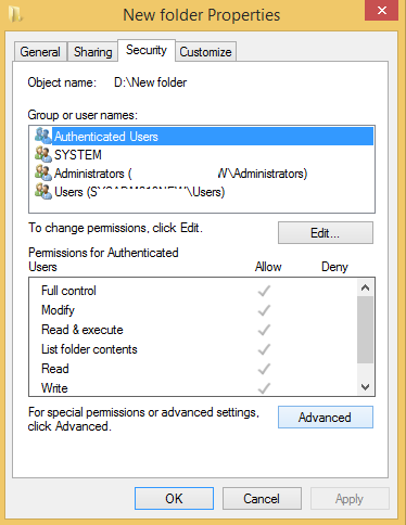 folder-properties