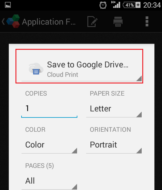 google cloud printing 11