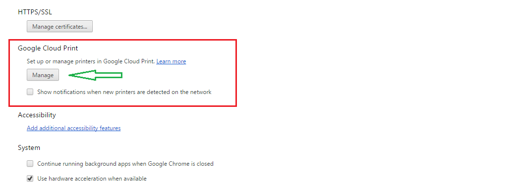 google cloud printing 2