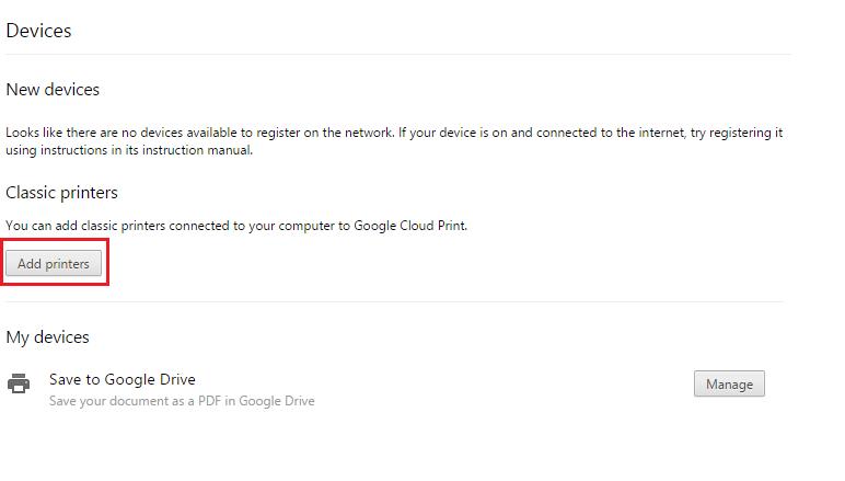 google cloud printing 3