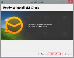 instalare em client1