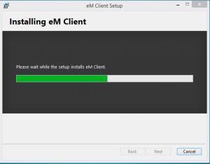 instalare em client2