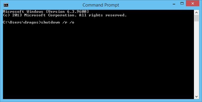 how to get recovery mode in windows 8