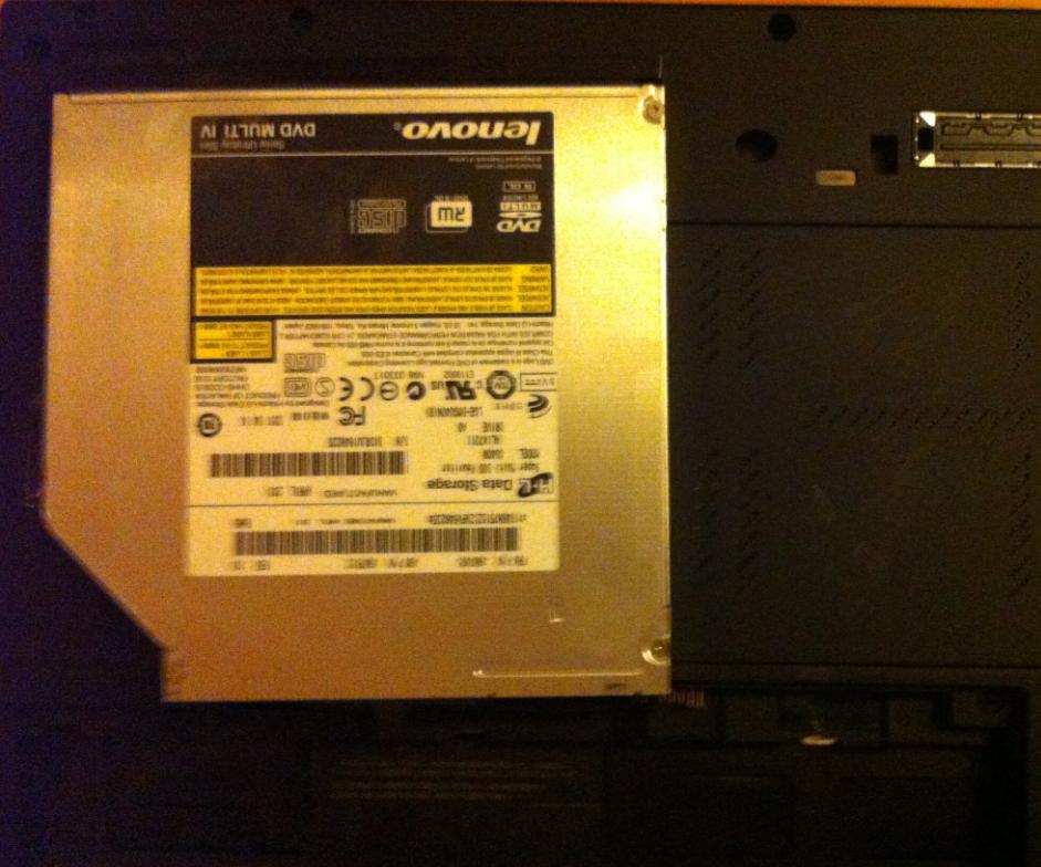 Înlocuire unitate optica la laptop LENOVO ThinkPad T420s another