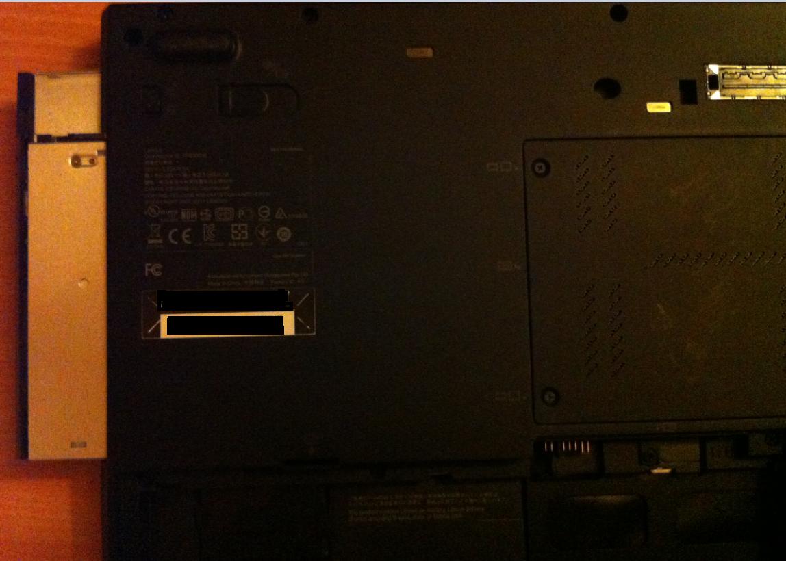 Înlocuire unitate optica la laptop LENOVO ThinkPad T420s out another