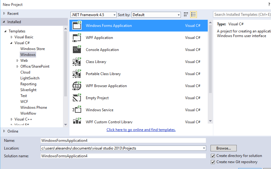 3_Visual_studio_C#_form_button_lable_list_creaza_make_program
