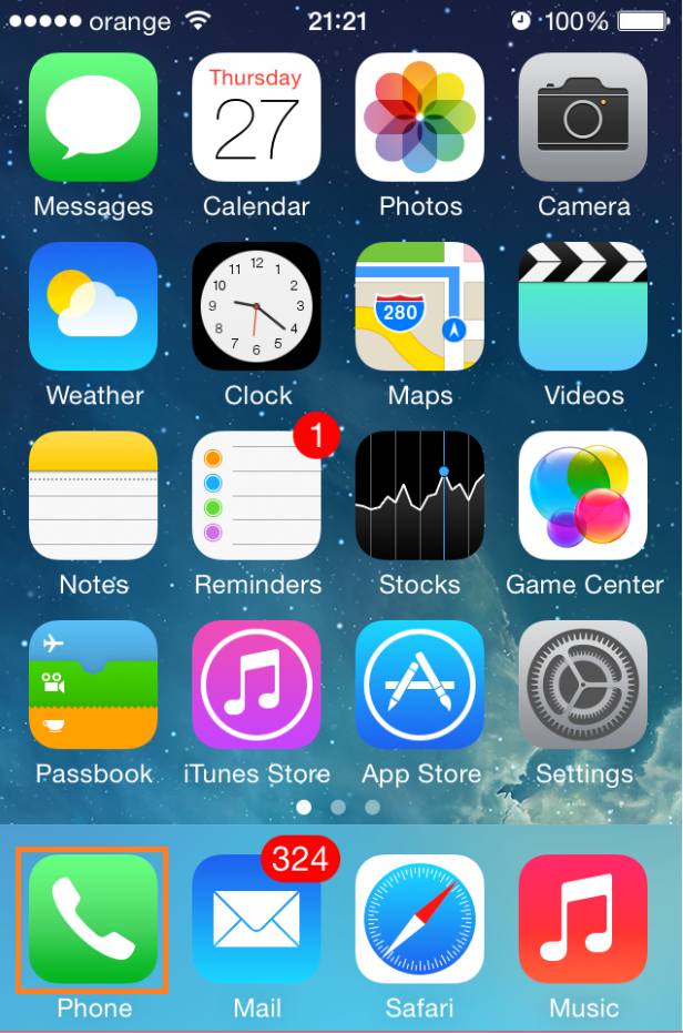 Cum accesam si alegem contactele, daca avem mai multe conturi pe un Iphone cu sincronizarea lor