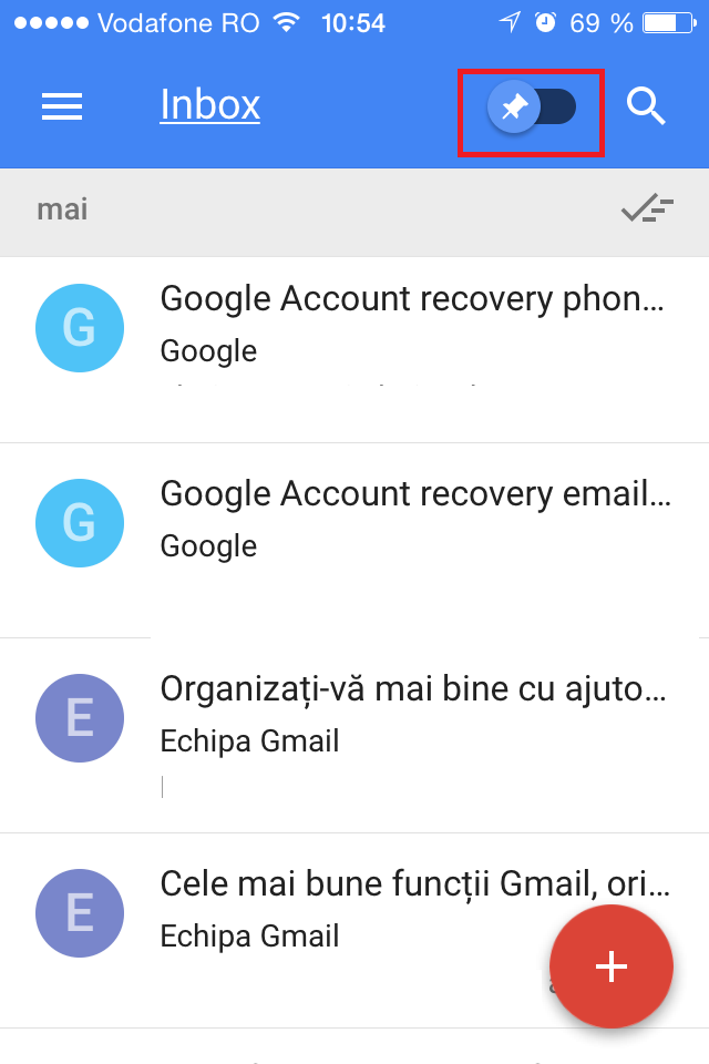 how to clear gmail inbox on iphone