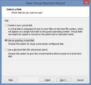 14 Cum se deschide imaginea virtuala a unui server utilizand VMware Workstation