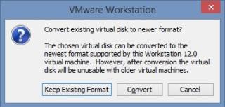 16 Cum se deschide imaginea virtuala a unui server utilizand VMware Workstation