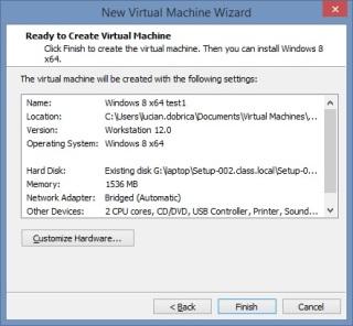 17 Cum se deschide imaginea virtuala a unui server utilizand VMware Workstation
