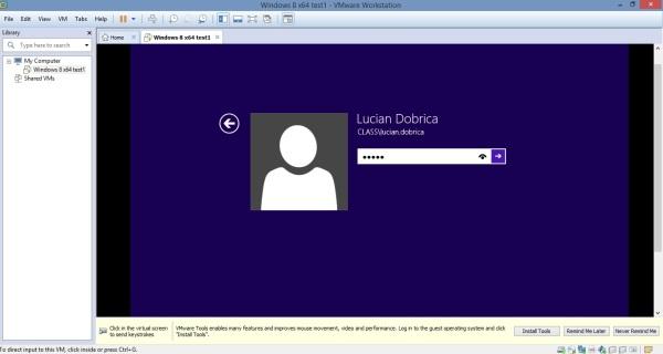 19 Cum se deschide imaginea virtuala a unui server utilizand VMware Workstation