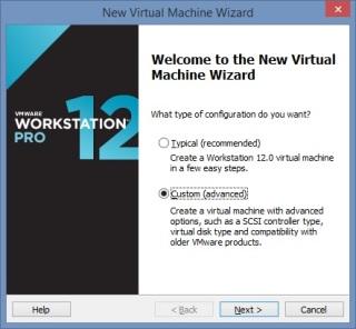 3 Cum se deschide imaginea virtuala a unui server utilizand VMware Workstation