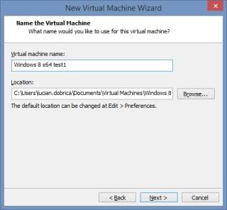 7 Cum se deschide imaginea virtuala a unui server utilizand VMware Workstation