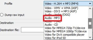 dropdown-profil-vlc-extragere-audio