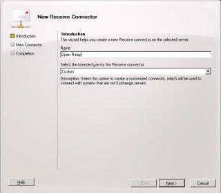 3Cum configurezi SMTP unui server de Exchange sa accepte conexiuni de la un ip extern