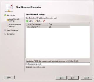 4Cum configurezi SMTP unui server de Exchange sa accepte conexiuni de la un ip extern