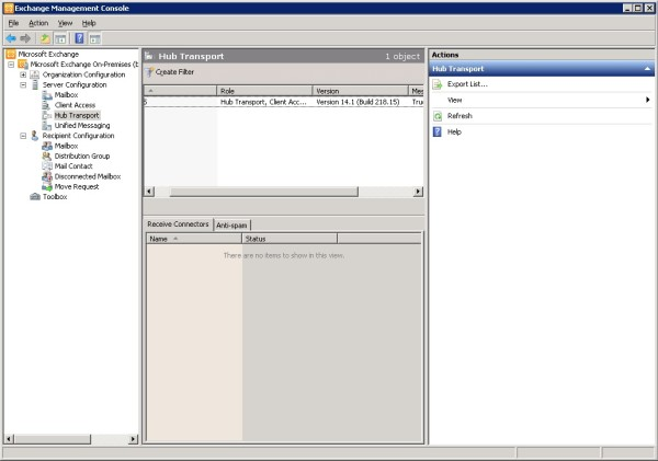 Cum configurezi SMTP unui server de Exchange sa accepte conexiuni de la un ip extern